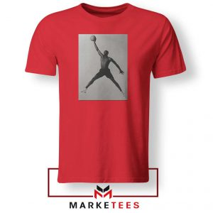 Jordan Fly NBA 2021 Best Red Tshirt