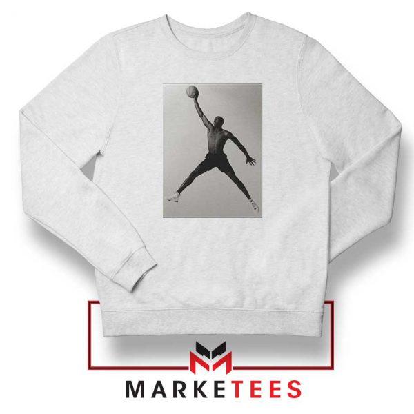 Jordan Fly NBA 2021 Best White Sweatshirt
