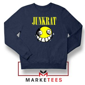 Junkrat Smells Gaming Navy Blue Sweatshirt
