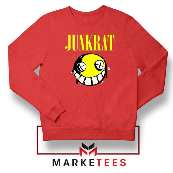 Junkrat Smells Gaming Red Sweatshirt