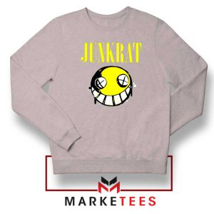 Junkrat Smells Gaming Sport Grey Sweatshirt