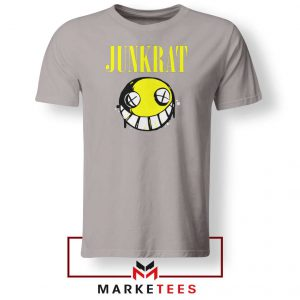 Junkrat Smells Gaming Sport Grey Tshirt