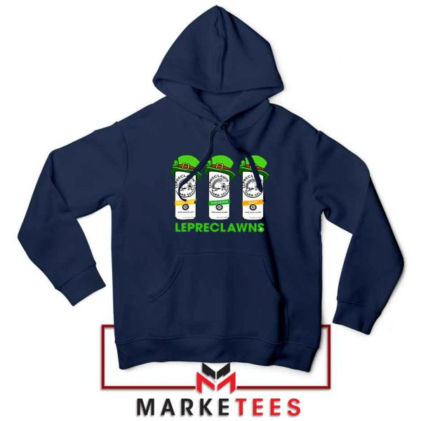 Lepreclawns Animation 2021 Navy Blue Hoodie