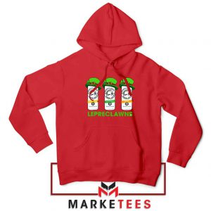 Lepreclawns Animation 2021 Red Hoodie