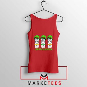 Lepreclawns Animation New Red Tank Top