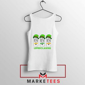 Lepreclawns Animation New White Tank Top