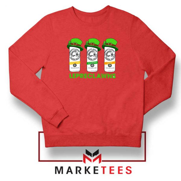 Lepreclawns Animation Red Sweatshirt