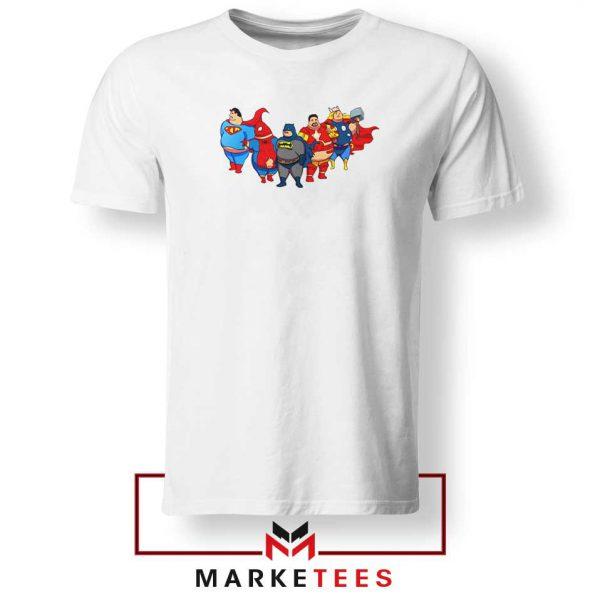 Marvel Fat Superheroes 2021 Tshirt