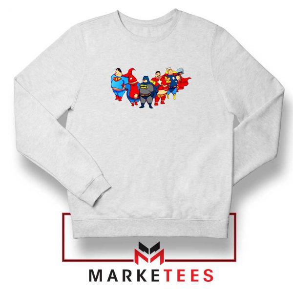 Marvel Fat Superheroes Sweatshirt