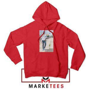 Nipsey Hussle Rapper Red Hoodie