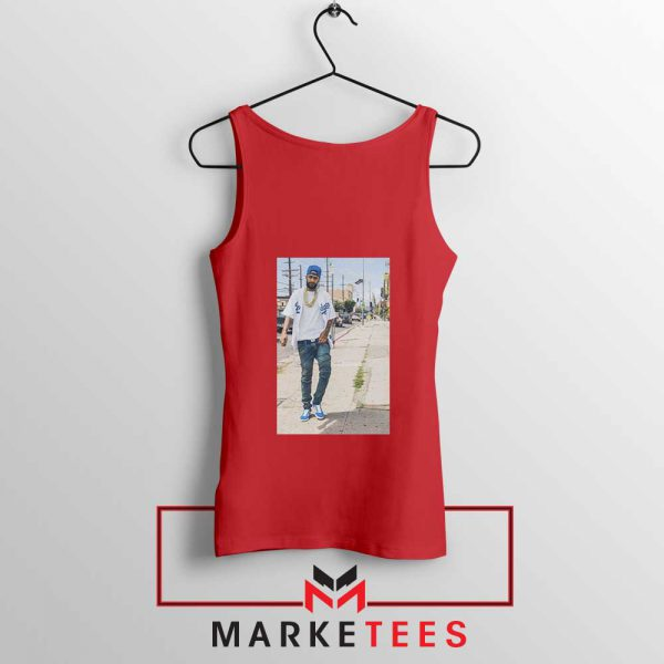 Nipsey Hussle Rapper Red Tank Top