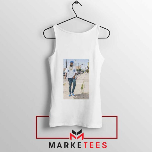 Nipsey Hussle Rapper White Tank Top