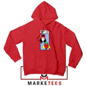 Scarlet Witch and The Vision Red Hoodie