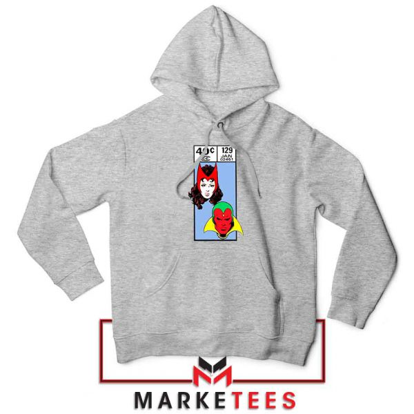 Scarlet Witch and The Vision Sport Grey Hoodie