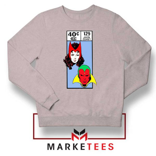 Scarlet Witch and The Vision Sport Grey Sweatshirt