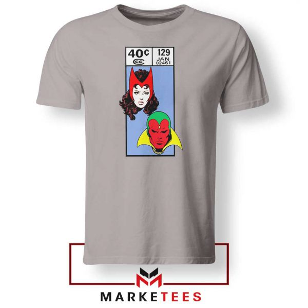 Scarlet Witch and The Vision Sport Grey Tshirt