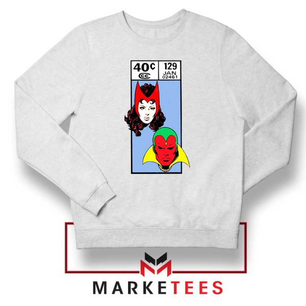 Scarlet Witch and The Vision Sweatshirt