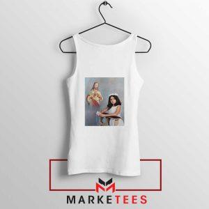 Selena Gomez First Communion White Tank Top