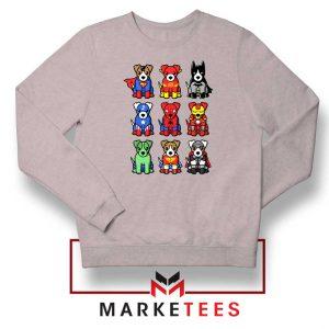 Superdogs Animal Best Sport Grey Sweatshir