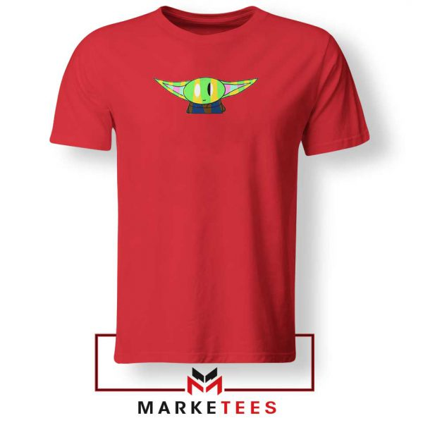 The Child Character Best Red Tshirt