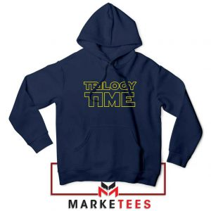 Trilogy Time TV Show Best Navy Blue Hoodie
