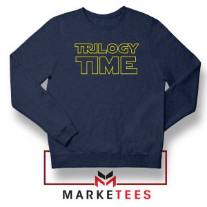 Trilogy Time TV Show Best Navy Blue Sweatshirt