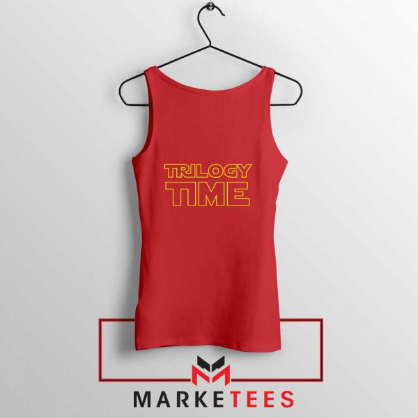 Trilogy Time TV Show Best Red Tank Top