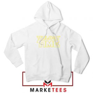 Trilogy Time TV Show Best White Hoodie