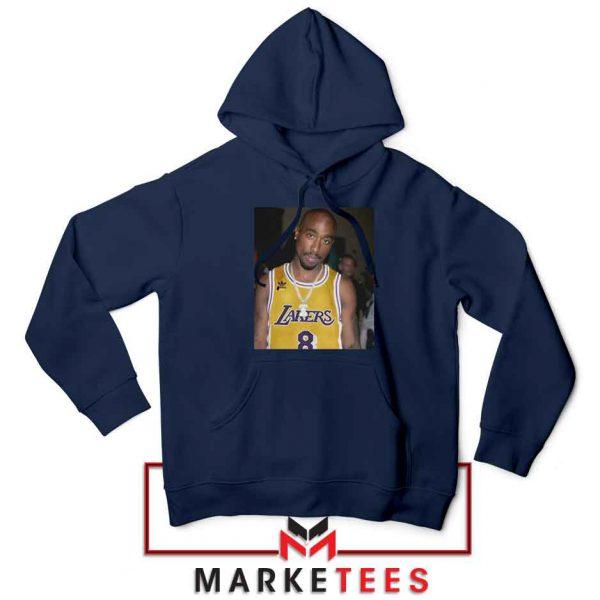 Tupac Lakers 2021 Best Navy Blue Hoodie