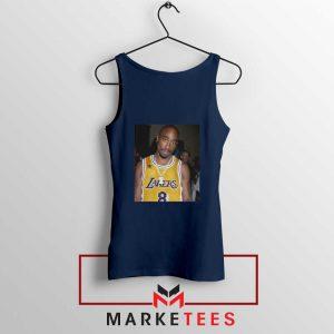 Tupac Lakers 2021 Best Navy Blue Tank Top