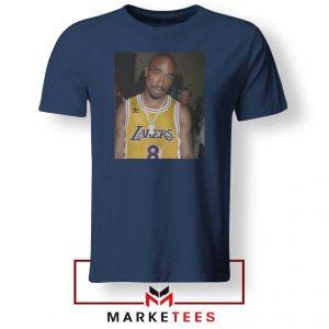 Tupac Lakers 2021 Best Navy Blue Tshirt