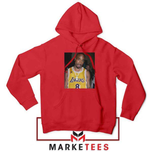 Tupac Lakers 2021 Best Red Hoodie