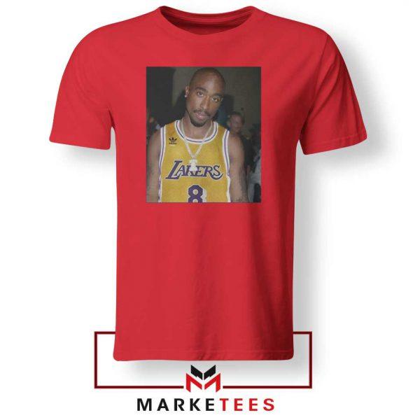 Tupac Lakers 2021 Best Red Tshirt