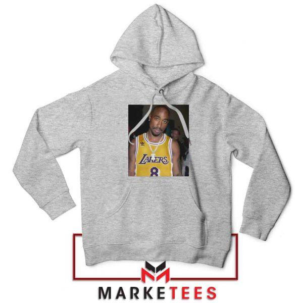 Tupac Lakers 2021 Best Sport Grey Hoodie