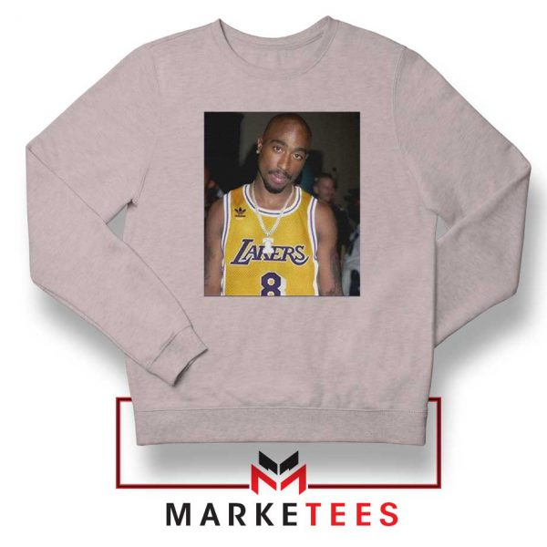 Tupac Lakers 2021 Best Sport Grey Sweatshirt