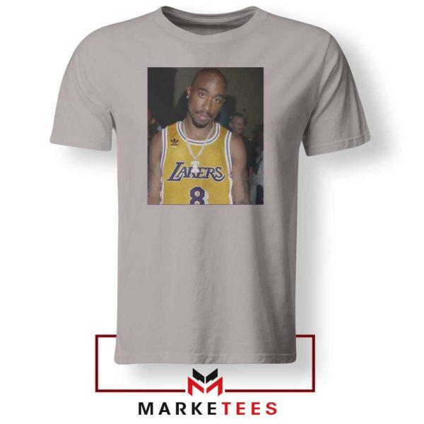 Tupac Lakers 2021 Best Sport Grey Tshirt