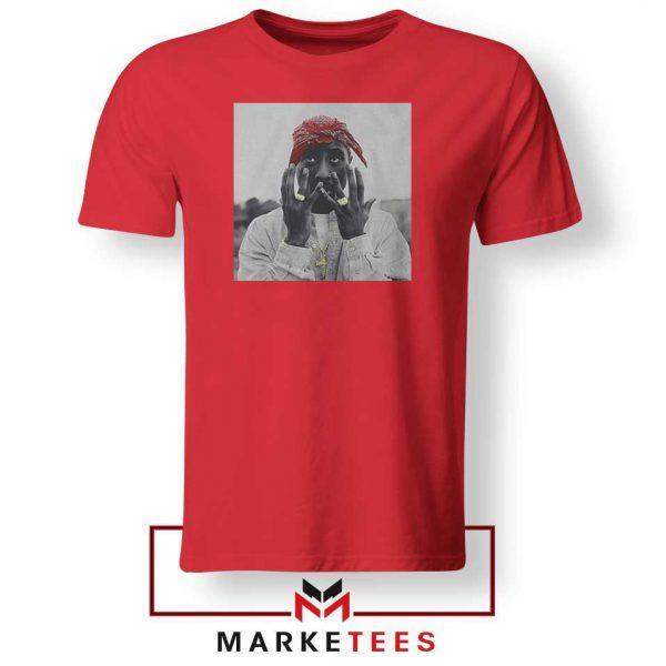 Tupac Speechless 2021 Best Red Tshirt
