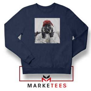Tupac Speechless Best Navy Blue Sweatshirt
