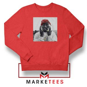 Tupac Speechless Best Red Sweatshirt