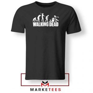 Walking Dead Zombie Evolution Tshirt
