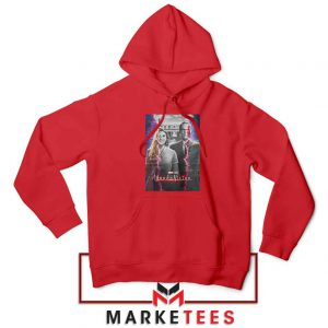 WandaVision Poster 2021 Best Red Hoodie