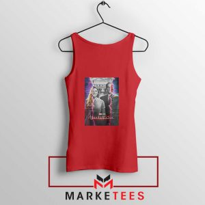 WandaVision Poster 2021 Best Red Tank Top