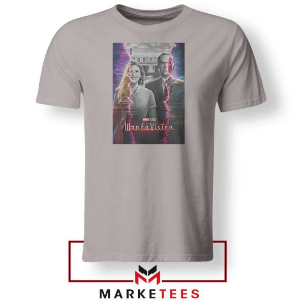 WandaVision Poster 2021 Best Sport Grey Tshirt