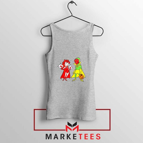 Wandavision Cartoon 2021 Best Sport Grey Tank Top