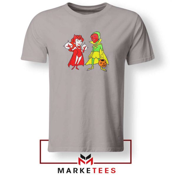 Wandavision Cartoon 2021 Best Sport Grey Tshirt