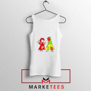 Wandavision Cartoon 2021 Best Tank Top