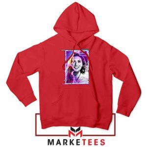 Wandavision Disneyplus New Red Hoodie
