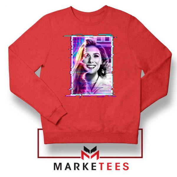 Wandavision Disneyplus Red Sweatshirt