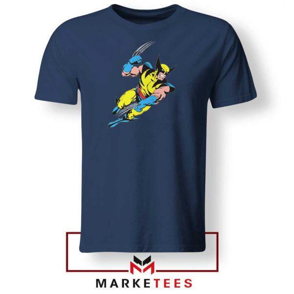 Wolverine Mutant 2021 New Navy Blue Tshirt