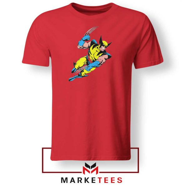 Wolverine Mutant 2021 New Red Tshirt